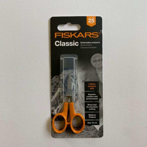Fiskars Scissors: Embroidery/Needlework: 10cm/4in