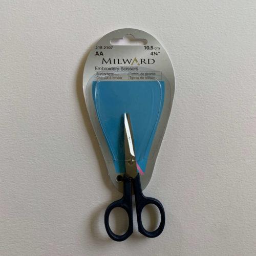 Embroidery Scissors: 10.5cm: Plastic Handle