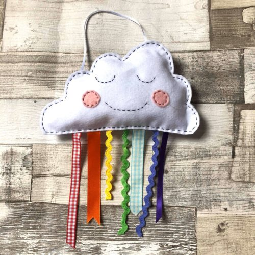 Felt Rainbow Cloud Craft Kit