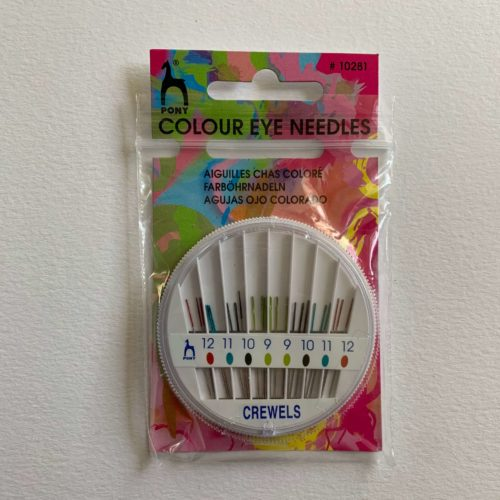 Hand Sewing Needles: Crewels: : Coloured-Coded Eye