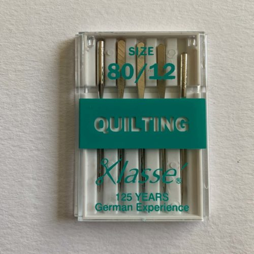 Sewing Machine Needles: Quilting: 80/12