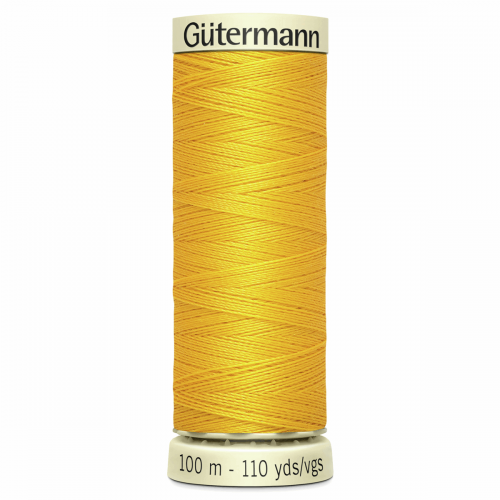 Gütermann Sew-All Thread: 100m: Yellow 106