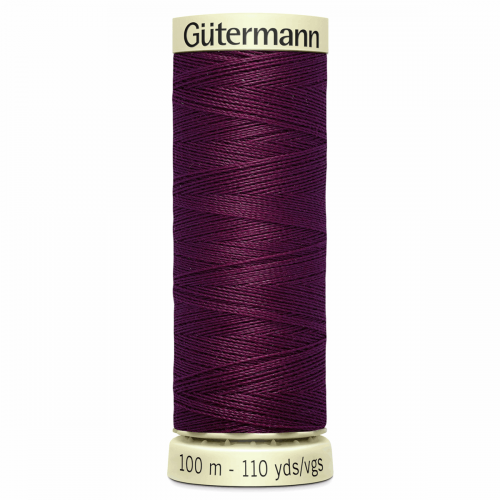 Gütermann Sew-All Thread: 100m: Purple 108