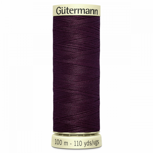 Gütermann Sew-All Thread: 100m: Purple 130
