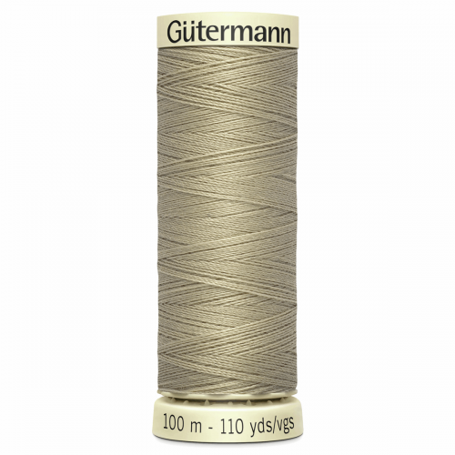 Gütermann Sew-All Thread: 100m: Beige 131