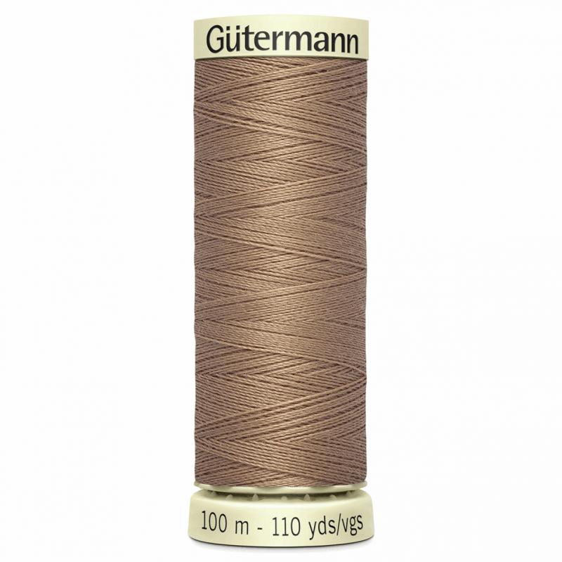 Gütermann Sew-All Thread: 100m: Brown 139