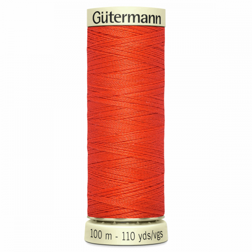 Gütermann Sew-All Thread: 100m: Orange 155