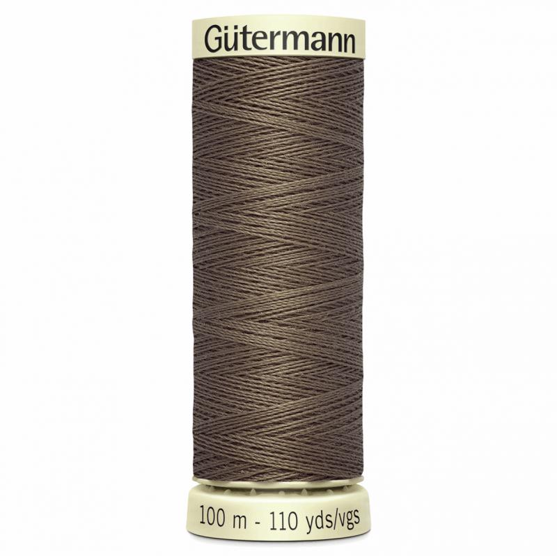 Gütermann Sew-All Thread: 100m: Brown 209