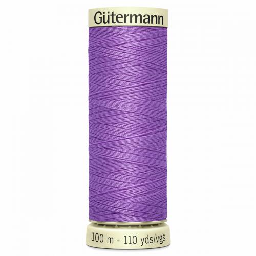 Gütermann Sew-All Thread: 100m: Purple 291
