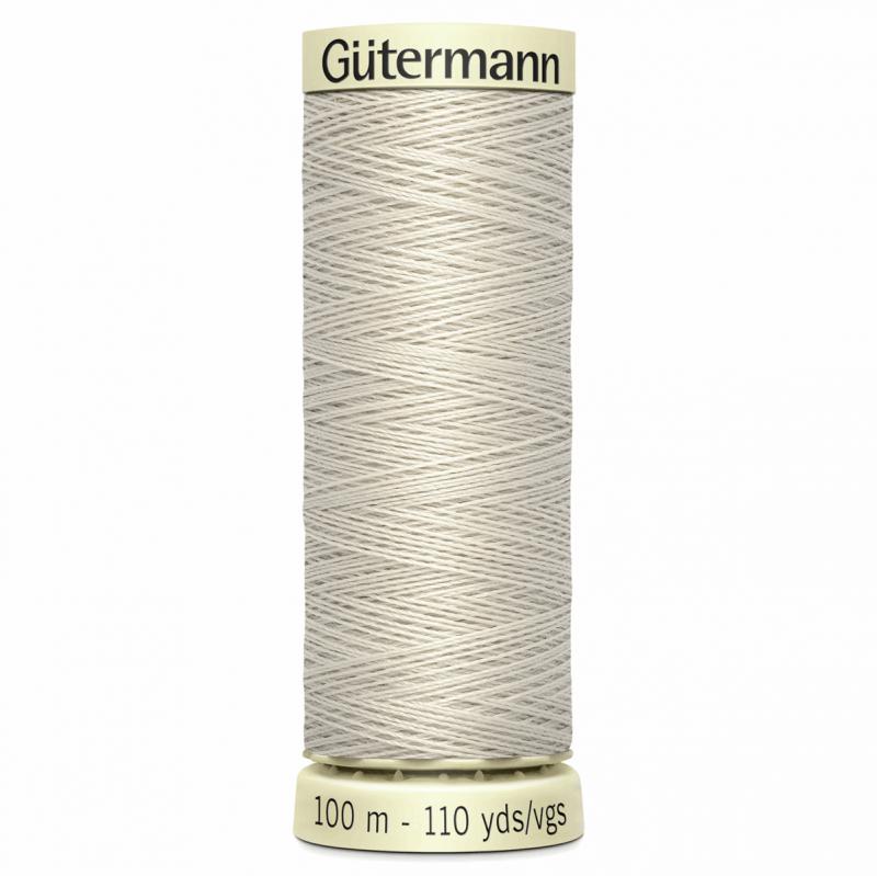 Gütermann Sew-All Thread: 100m: Beige 299