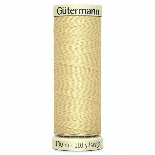 Gütermann Sew-All Thread: 100m: Yellow 325