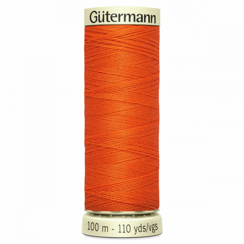 Gütermann Sew-All Thread: 100m: Orange 351