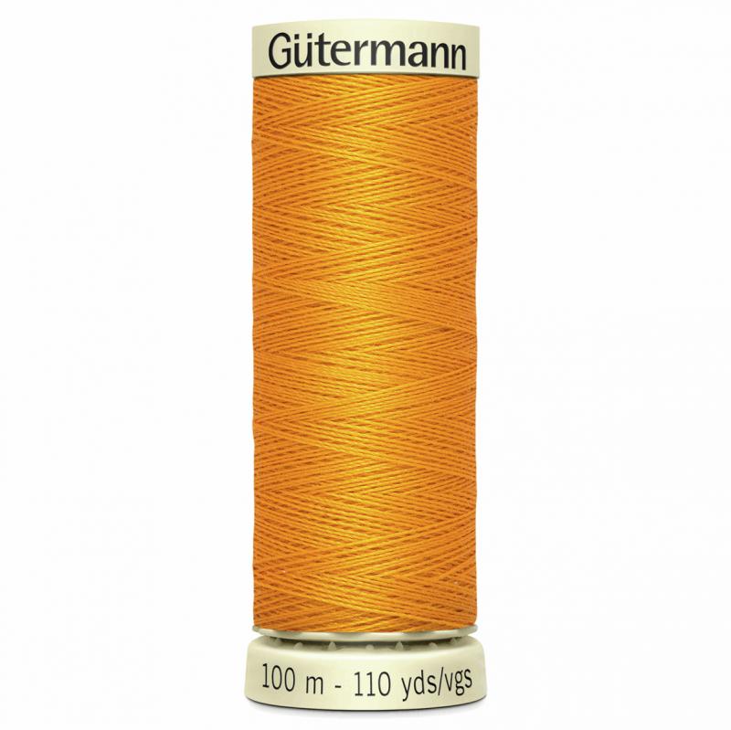 Gütermann Sew-All Thread: 100m: Orange 362
