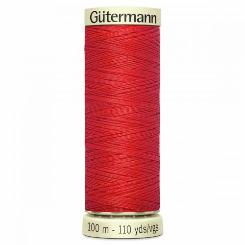 Gütermann Sew-All Thread: 100m: Red 364