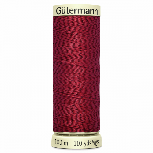Gütermann Sew-All Thread: 100m: Red 367