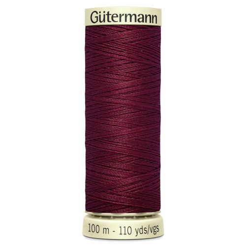 Gütermann Sew-All Thread: 100m: Red 368