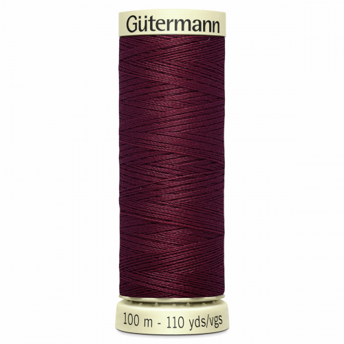 Gütermann Sew-All Thread: 100m: Red 369