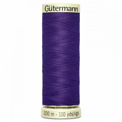 Gütermann Sew-All Thread: 100m: Purple 373