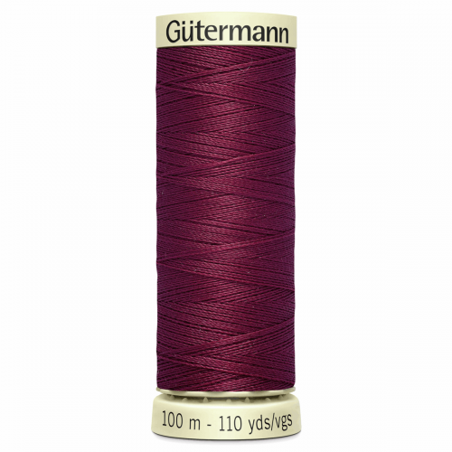Gütermann Sew-All Thread: 100m: Red 375
