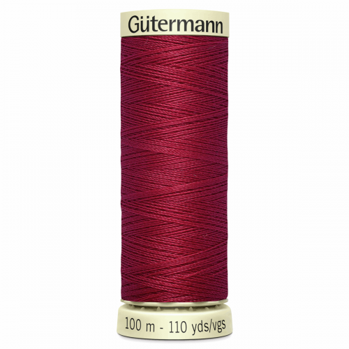 Gütermann Sew-All Thread: 100m: Red 384