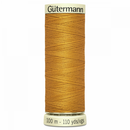 Gütermann Sew-All Thread: 100m: Yellow 412