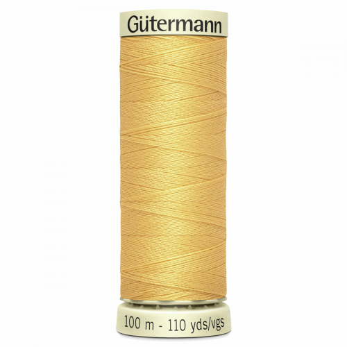 Gütermann Sew-All Thread: 100m: Yellow 415