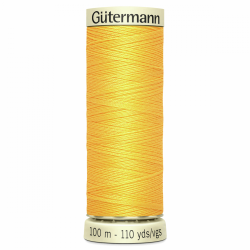 Gütermann Sew-All Thread: 100m: Yellow 417