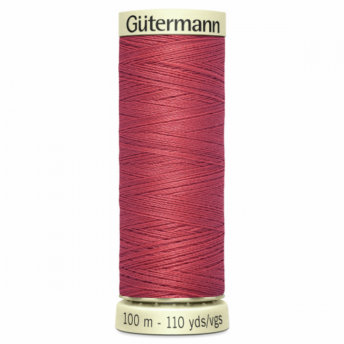 Gütermann Sew-All Thread: 100m: Red 519