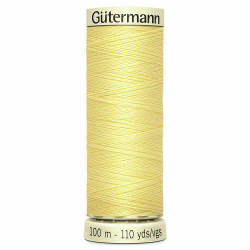 Gütermann Sew-All Thread: 100m: Yellow 578