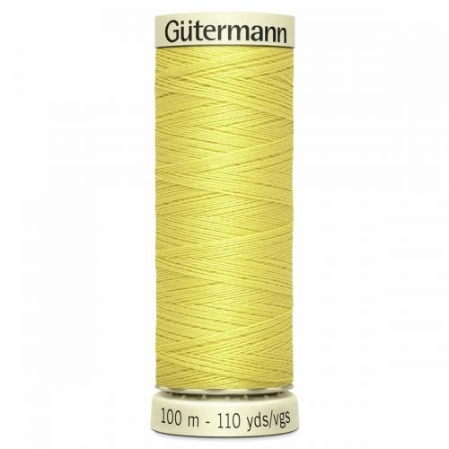 Gütermann Sew-All Thread: 100m: Yellow 580