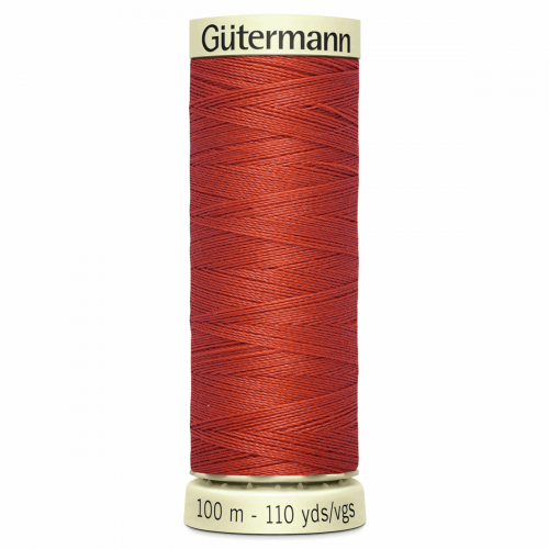 Gütermann Sew-All Thread: 100m: Orange 589