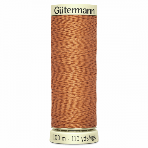 Gütermann Sew-All Thread: 100m: Orange 612