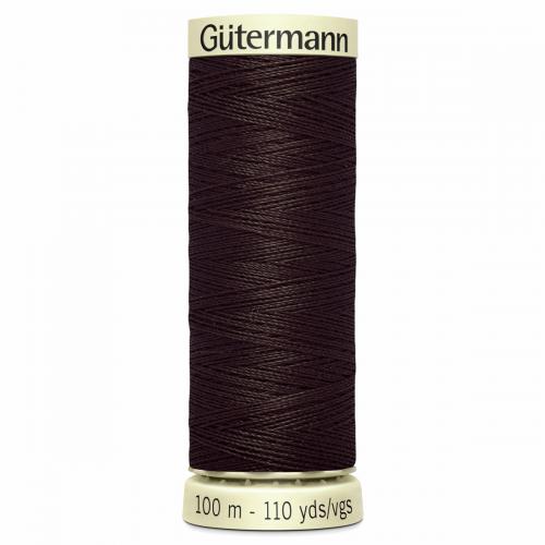Gütermann Sew-All Thread: 100m: Brown 696