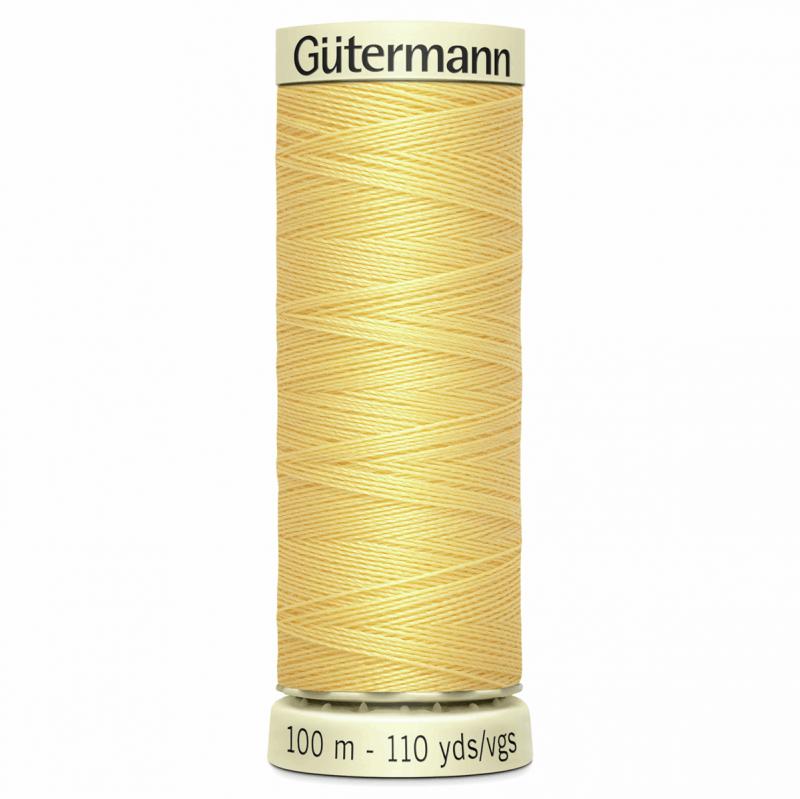 Gütermann Sew-All Thread: 100m: Yellow 7