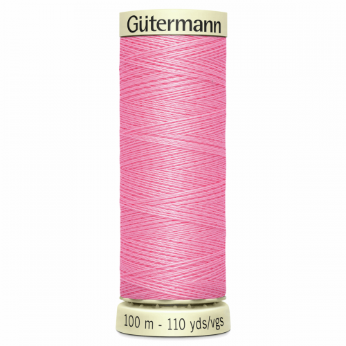 Gütermann Sew-All Thread: 100m: Pink 758