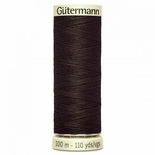 Gütermann Sew-All Thread: 100m: Brown 769