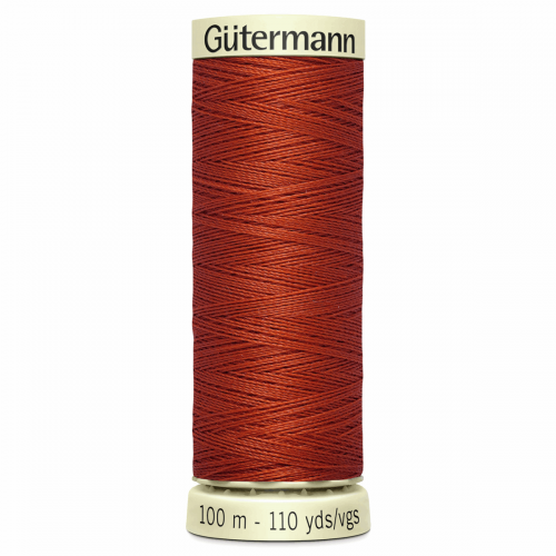 Gütermann Sew-All Thread: 100m: Orange 837