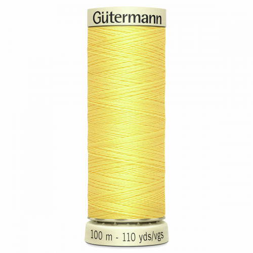 Gütermann Sew-All Thread: 100m: Yellow 852