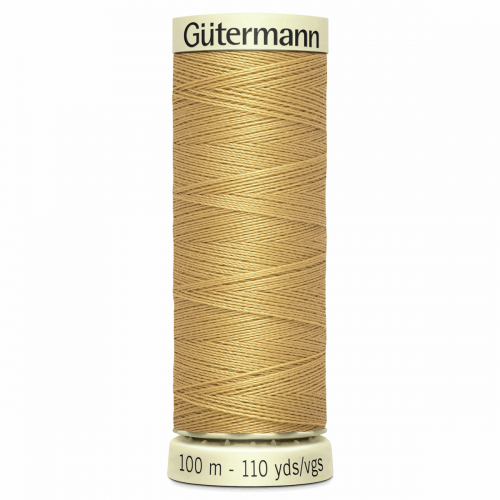 Gütermann Sew-All Thread: 100m: Yellow 893