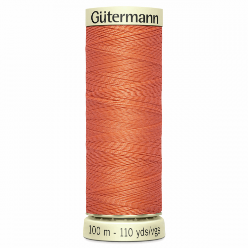 Gütermann Sew-All Thread: 100m: Orange 895