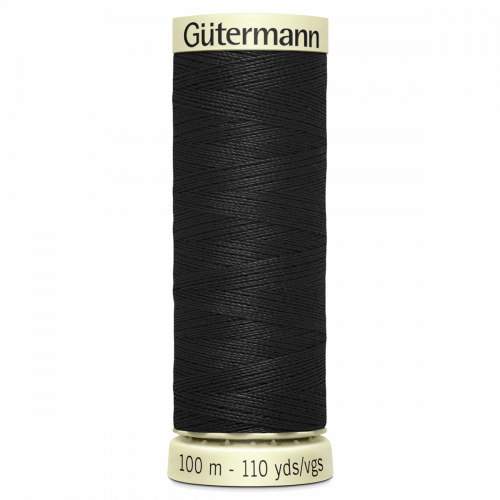 Gütermann Sew-All Thread: 100m: Black 000