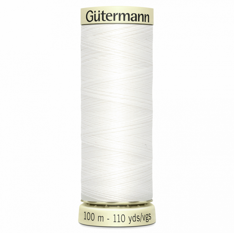 Gütermann Sew-All Thread: 100m: White 800