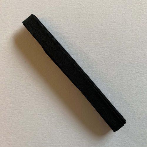 Bias Binding: Polycotton: 2.5m x 12mm: Black