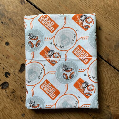 Star Wars BB8 Cotton Fabric - 1 Metre
