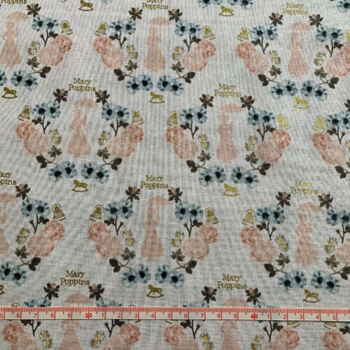 Mary Poppins Cotton Fabric - Fat Quarter