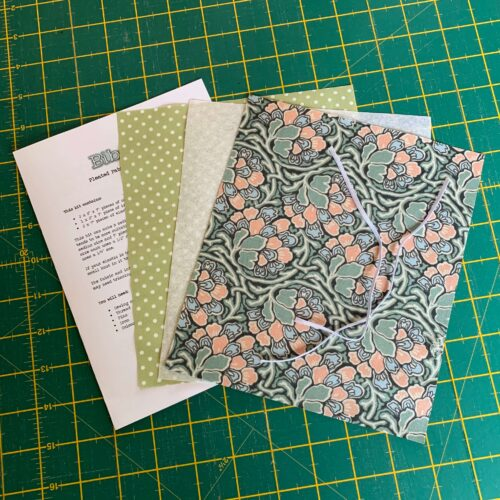 Pleated Face Mask Kit: Liberty The Hesketh House: Dianthus Dreams