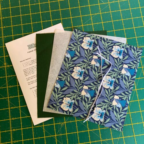 Pleated Face Mask Kit: Liberty The Hesketh House: Harriet's Pansy