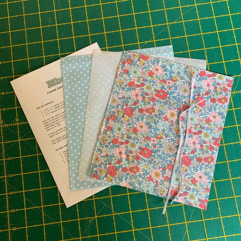 Pleated Face Mask Kit: Liberty Flower Show Spring: Arley Gardens
