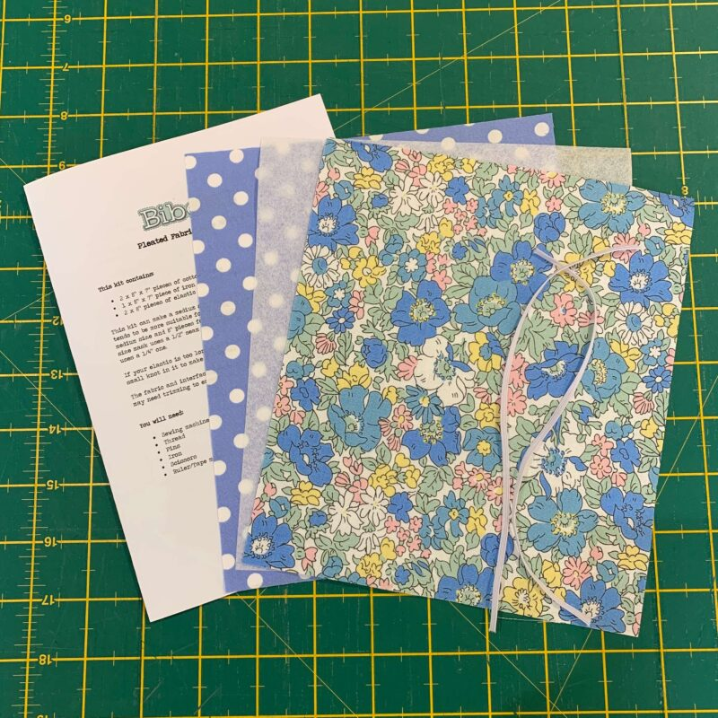 Pleated Face Mask Kit: Liberty Flower Show Spring: Cosmos Bloom