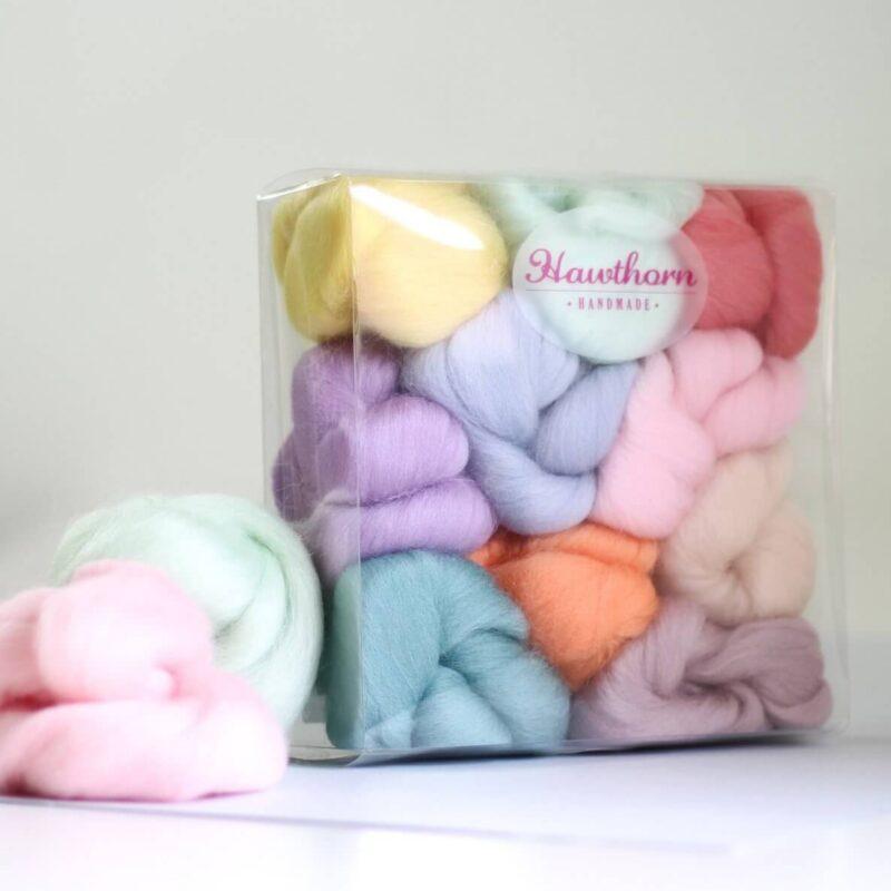 Pastels Wool Bundle